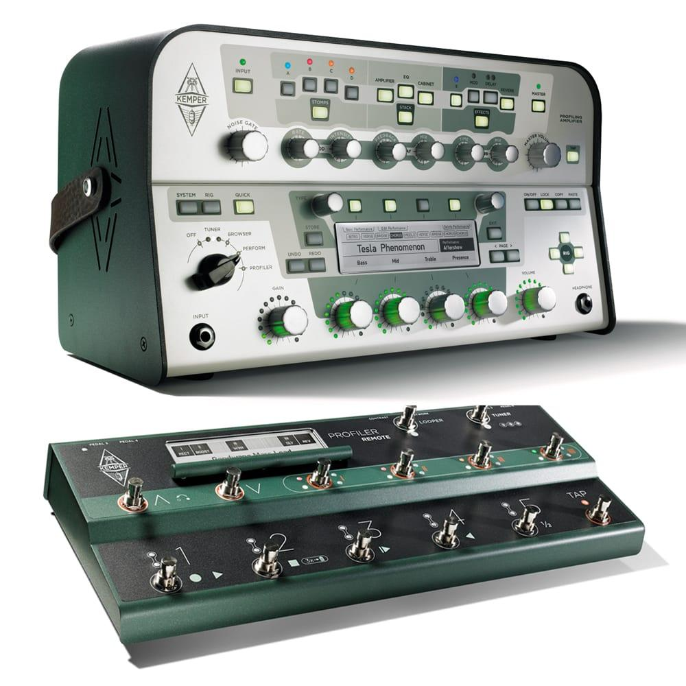 Kemper Profiler Head (White) + Remote Bundle-0