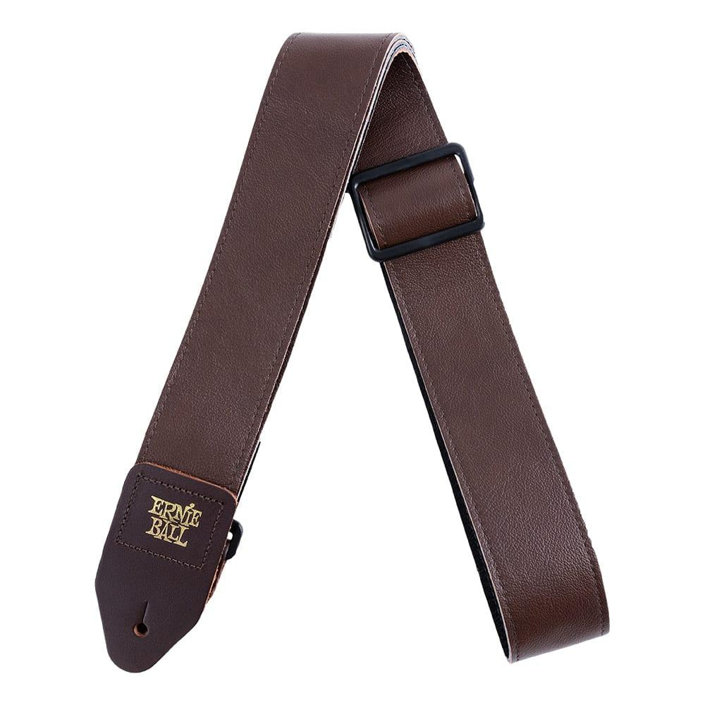 Ernie Ball Tri-Glide Italian Leather Strap רצועה לגיטרה-0