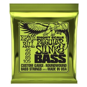 Ernie Ball 2852 Short Scale Slinky Nickel Wound Bass 45-105-0