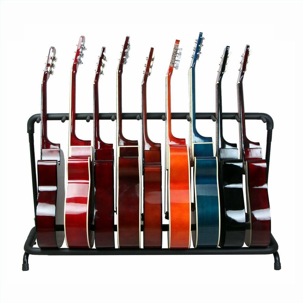 סטנד מתקפל ל-9 גיטרות-14602