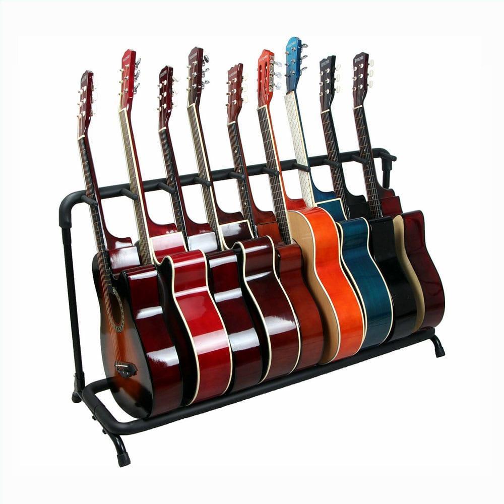 סטנד מתקפל ל-9 גיטרות-14601