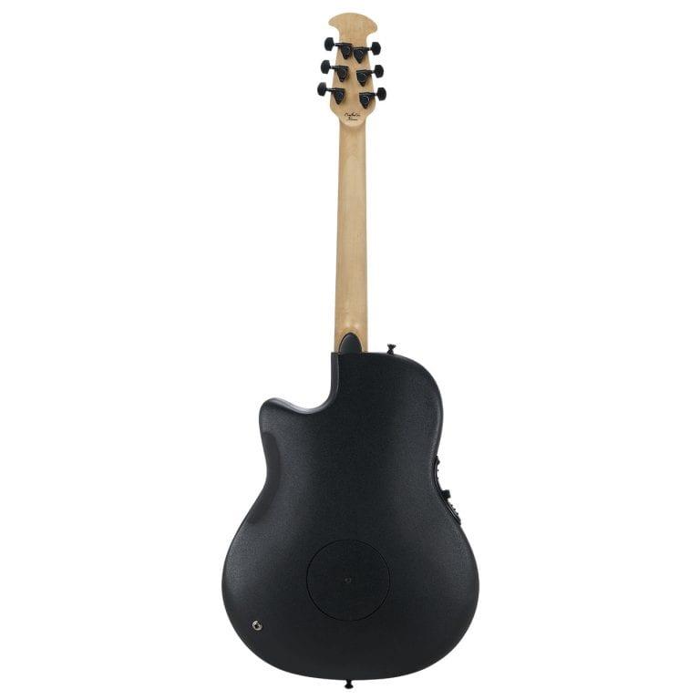 Ovation Elite TX Mid Depth Black/Spalted Maple-14905