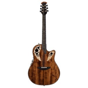 Ovation Elite Plus Deep Contour Figured Koa-0