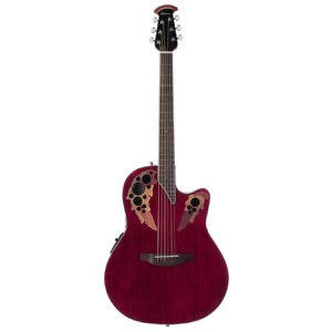 Ovation Celebrity Elite Super Shallow Ruby Red-0