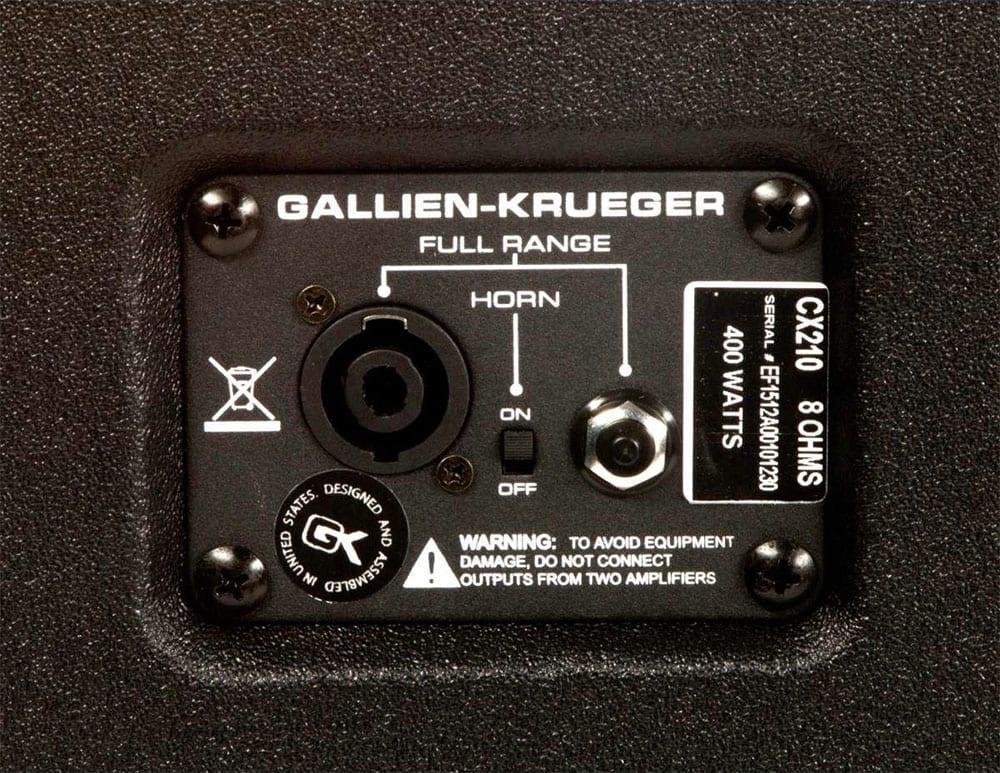 Gallien Krueger CX210-15737