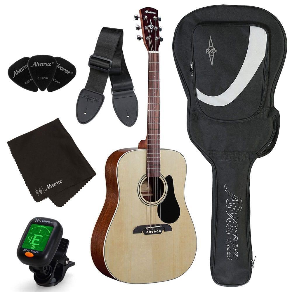 חבילת גיטרה אקוסטית למתחילים Alvarez RD26S-15642