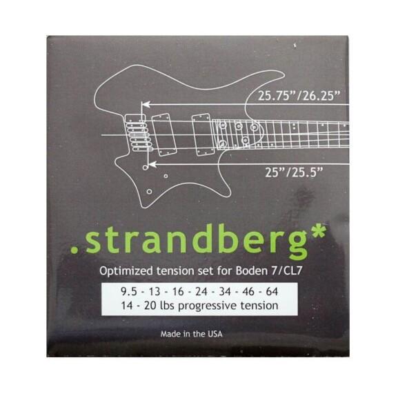 סט מיתרים ל-Strandberg Boden 7-0