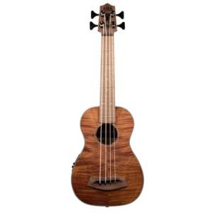 יוקולילי בס Kala U-Bass Exotic Mahogany w/RoundWound Strings-0