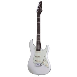Schecter USA Production Nick Johnston Traditional Atomic White-0