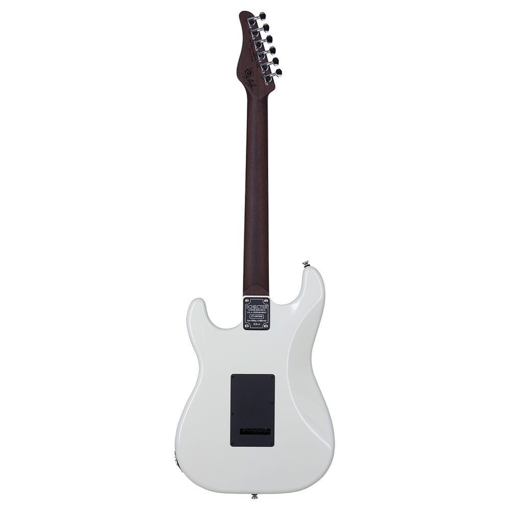 Schecter USA Production Nick Johnston Traditional Atomic White-17263