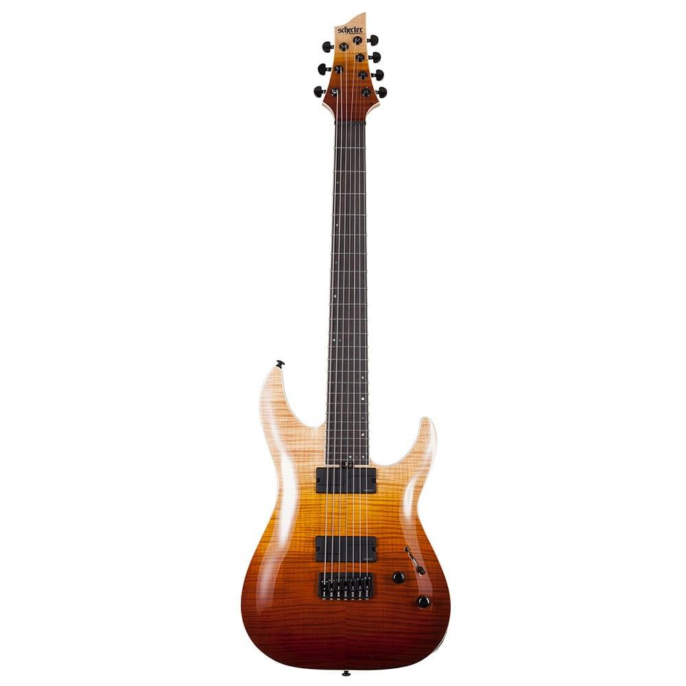 Schecter C-7 SLS Elite Antique Fade Burst-0