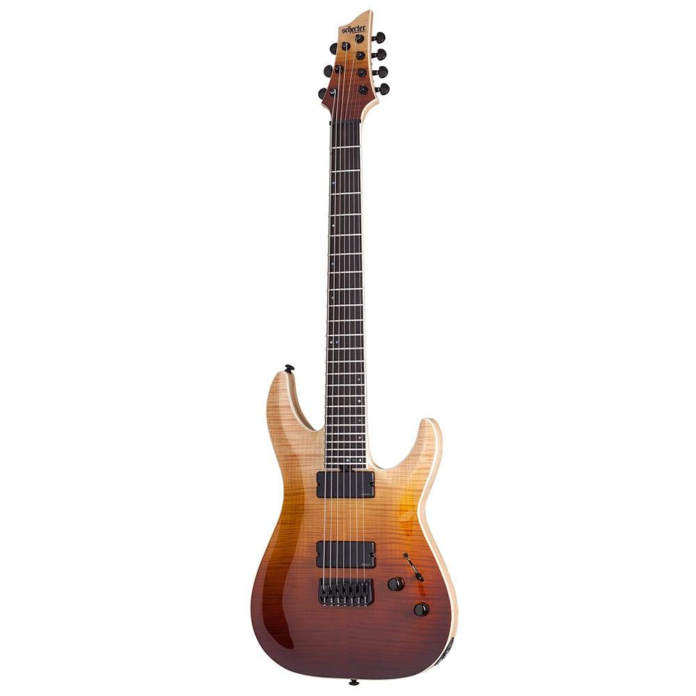 Schecter C-7 SLS Elite Antique Fade Burst-17957