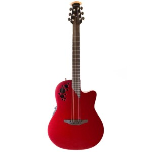 Ovation American Limited Chrome Red LXT-0