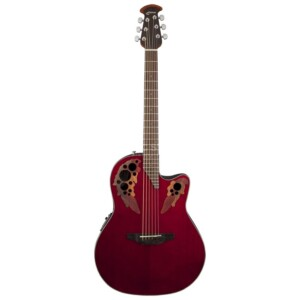 Ovation Celebrity Elite Mid Depth Ruby Red-0
