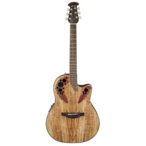 Ovation Celebrity Elite Plus Mid Depth Spalted Maple-0