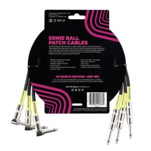 שלישיית כבלים Ernie Ball פאץ' 45cm | שחור-17692