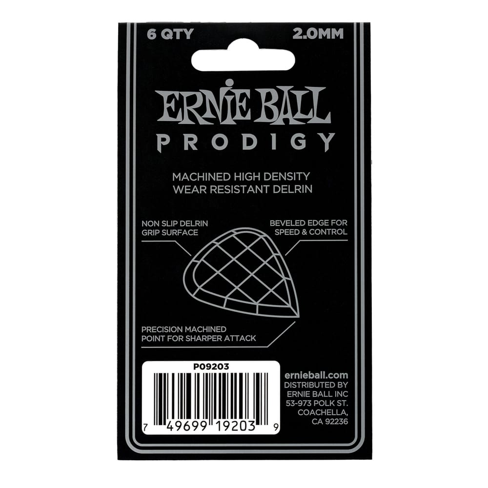 שישיית מפרטי Ernie Ball Mini Prodigy עובי 2.0mm-17703
