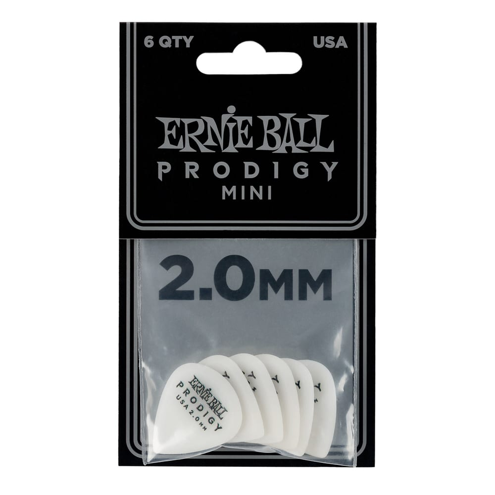 שישיית מפרטי Ernie Ball Mini Prodigy עובי 2.0mm-17704