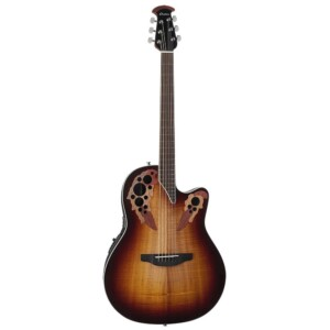 Ovation Celebrity Elite Plus Super Shallow Koa Burst-0