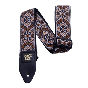 רצועה Ernie Ball Tribal Brown Jacquard-0