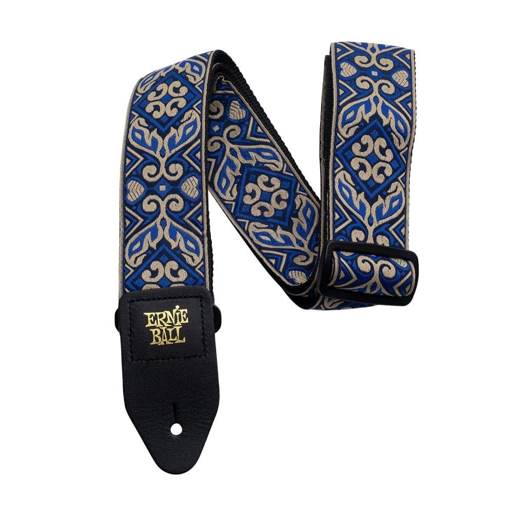 רצועה Ernie Ball Tribal Blue Jacquard-0