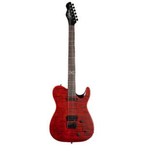 גיטרה חשמלית Chapman ML3 Standard BEA Baritone Paleblood Red