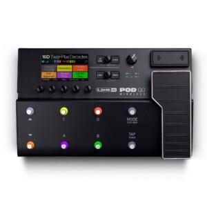 מולטי-אפקט ומדמה מגברים Line 6 POD Go Wireless