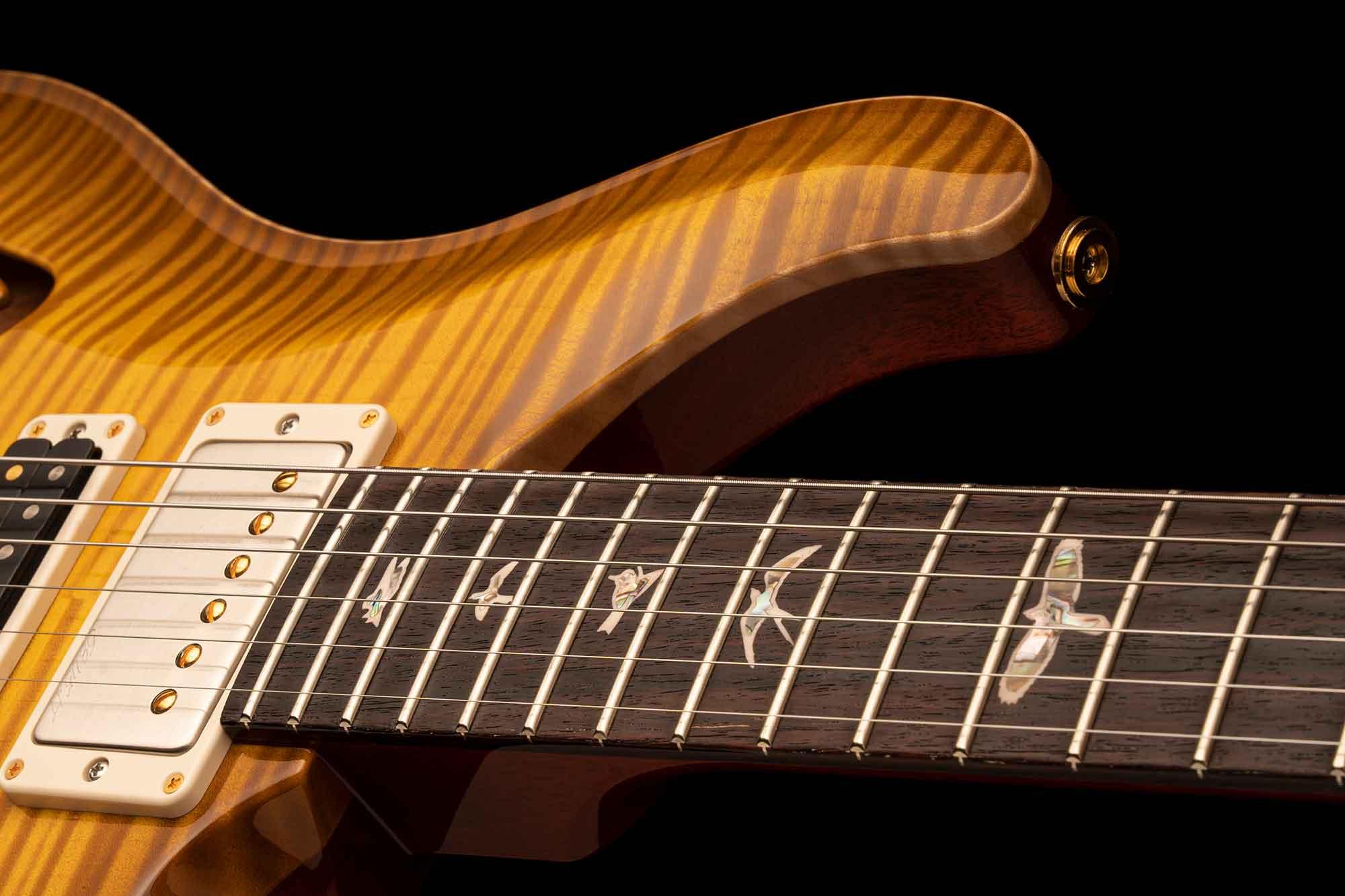 גיטרה חשמלית PRS USA Special Semi-Hollow צבע McCarty Sunburst