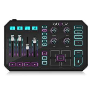 מיקסר לסטרימינג עם כרטיס קול מובנה TC-Helicon GO XLR