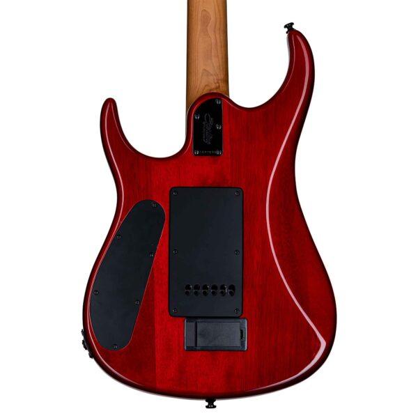 גיטרה חשמלית Sterling by Music Man JP150SM צבע Blood Orange Burst