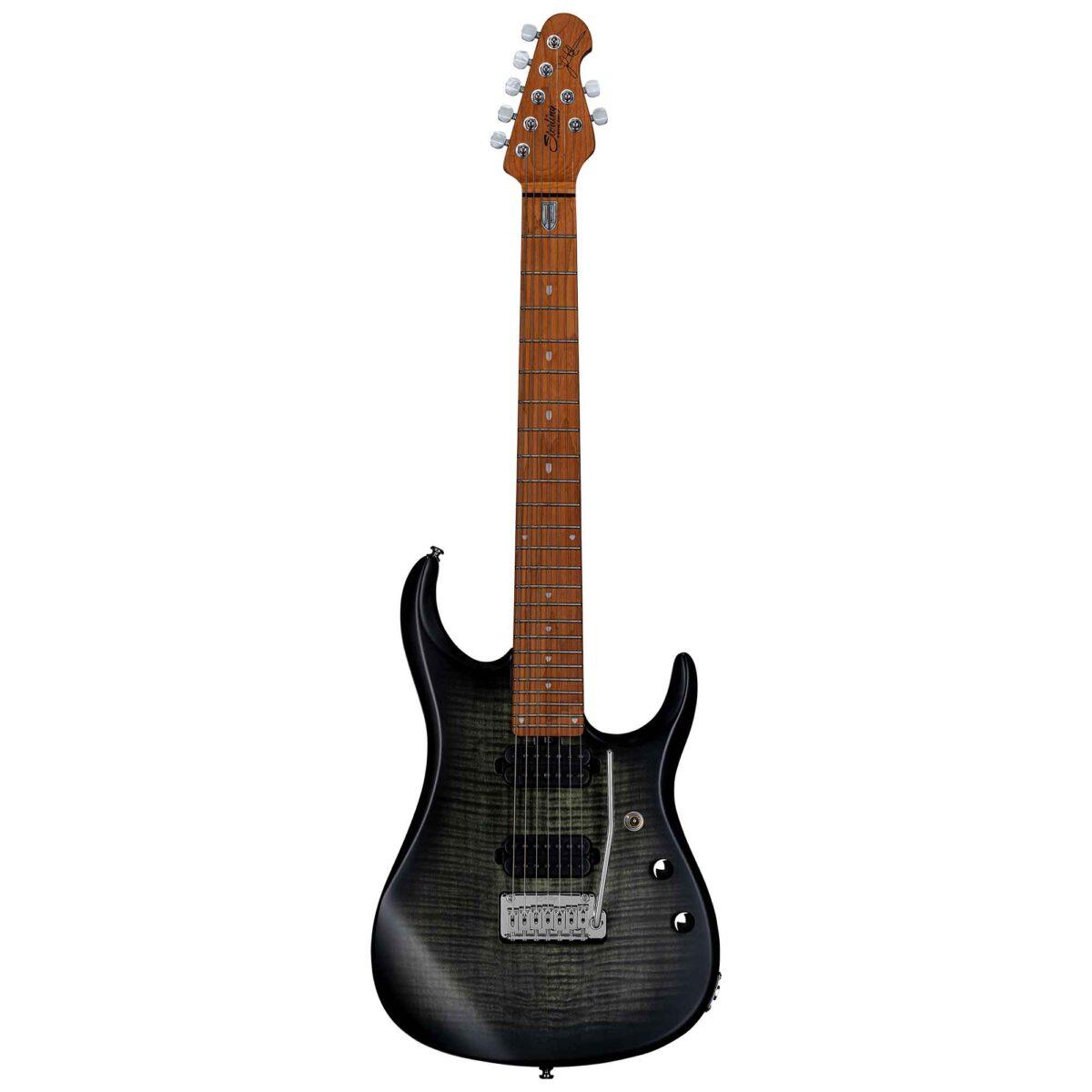 גיטרה חשמלית Sterling by Music Man JP157FM צבע Trans Black Flame