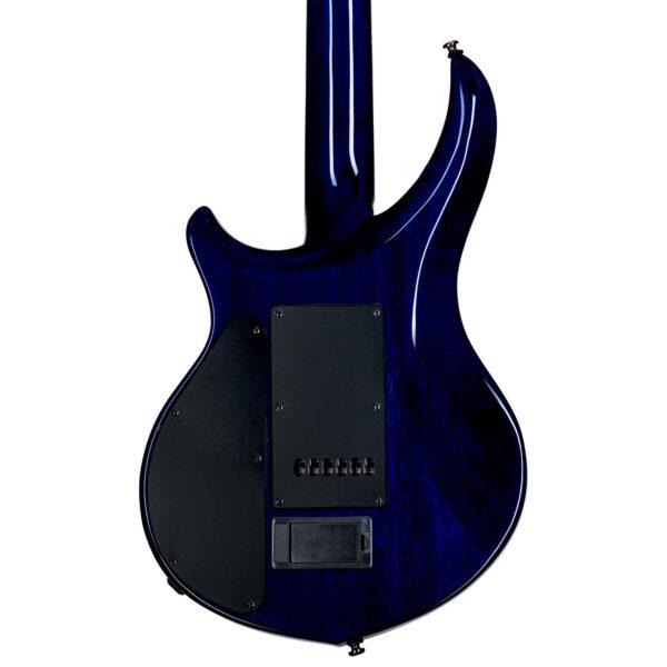 גיטרה חשמלית Sterling by Music Man MAJ200XQM Majesty צבע Cerulean Paradise Quilt
