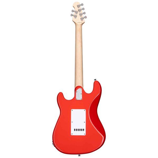 גיטרה חשמלית Sterling by Music Man CT30 Cutlass SSS צבע Fiesta Red
