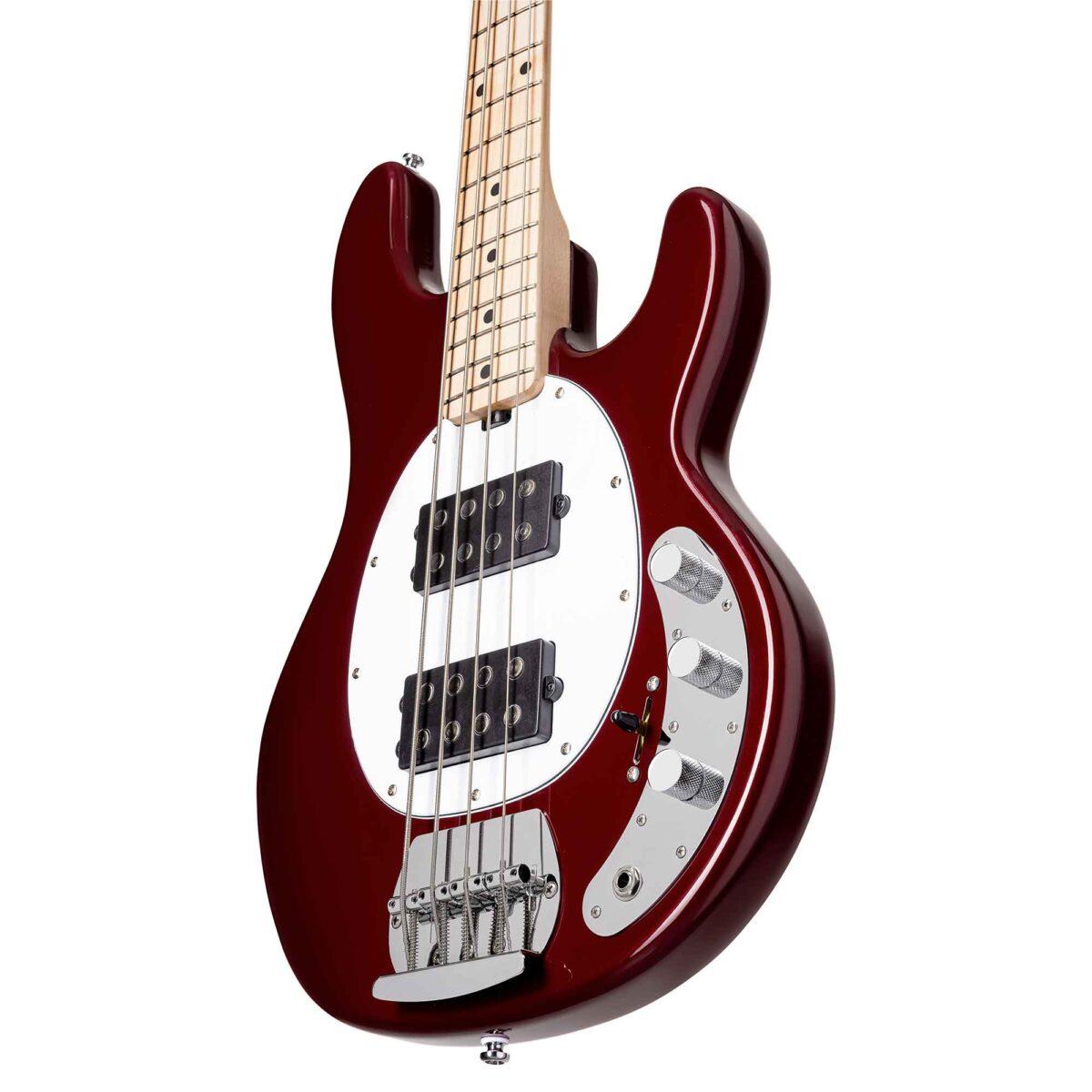 גיטרה בס Sterling by Music Man S.U.B. Ray4HH צבע Candy Apple Red