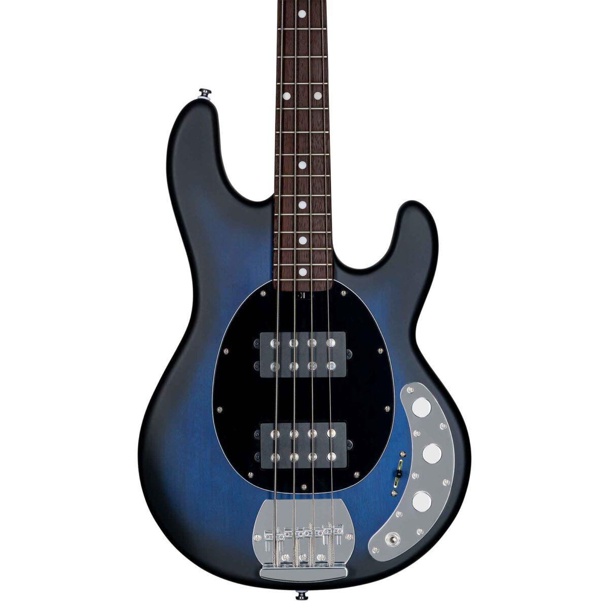 גיטרה בס Sterling by Music Man S.U.B. Ray4HH צבע Pacific Blue Burst Satin
