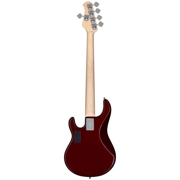 גיטרה בס Sterling by Music Man S.U.B. Ray5HH צבע Candy Apple Red