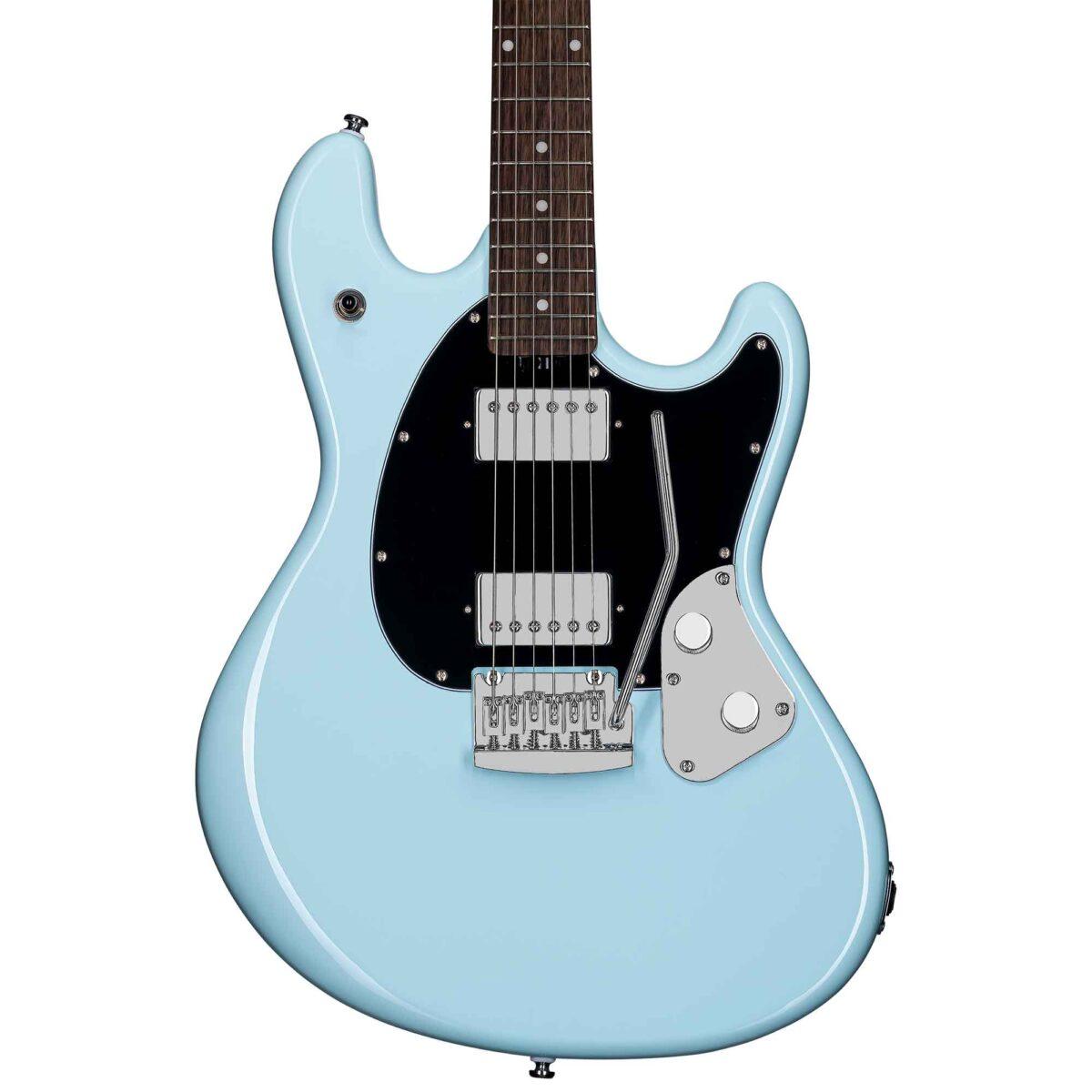גיטרה חשמלית Sterling by Music Man SR30 StingRay Guitar צבע Daphne Blue
