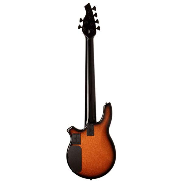 גיטרה בס Music Man Bongo 6 HH בצבע Harvest Orange