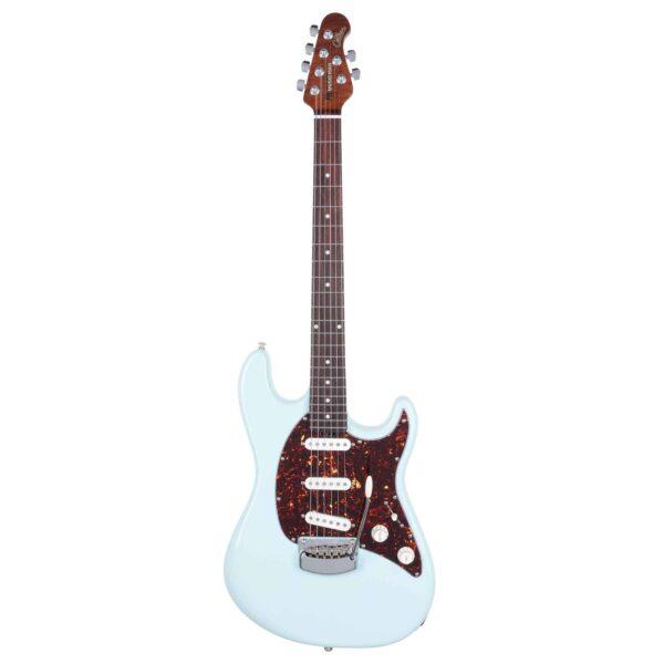 גיטרה חשמלית Music Man Cutlass RS SSS צבע Powder Blue