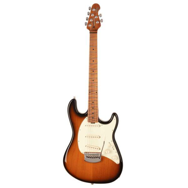 גיטרה חשמלית Music Man Cutlass RS SSS צבע Vintage Tobacco Burst