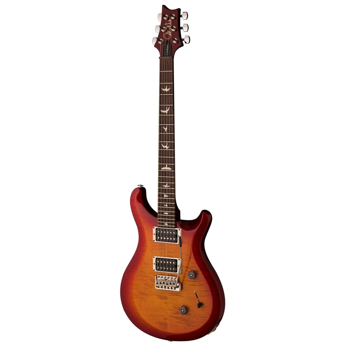 גיטרה חשמלית PRS USA S2 Custom 24 צבע Dark Cherry Sunburst