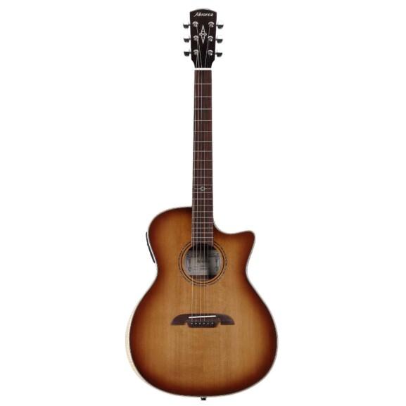 גיטרה אקוסטית מוגברת Alvarez AGA95CEARSHB