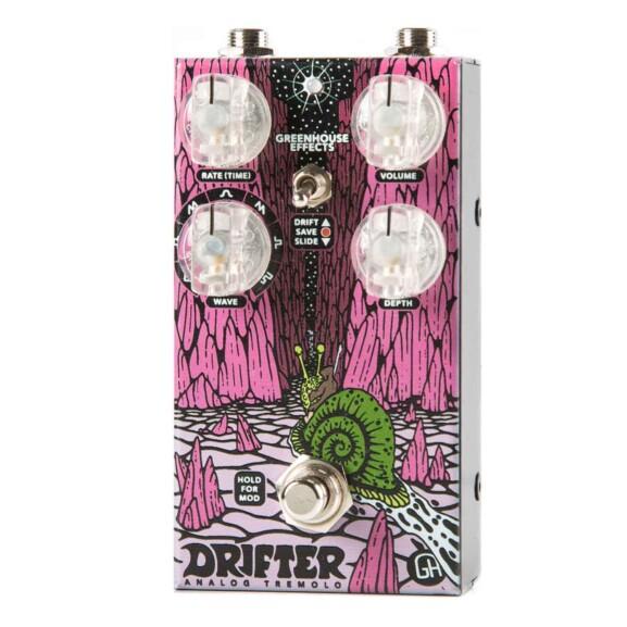 פדאל טרמולו לגיטרה Greenhouse Effects Drifter Tremolo Limited Edition