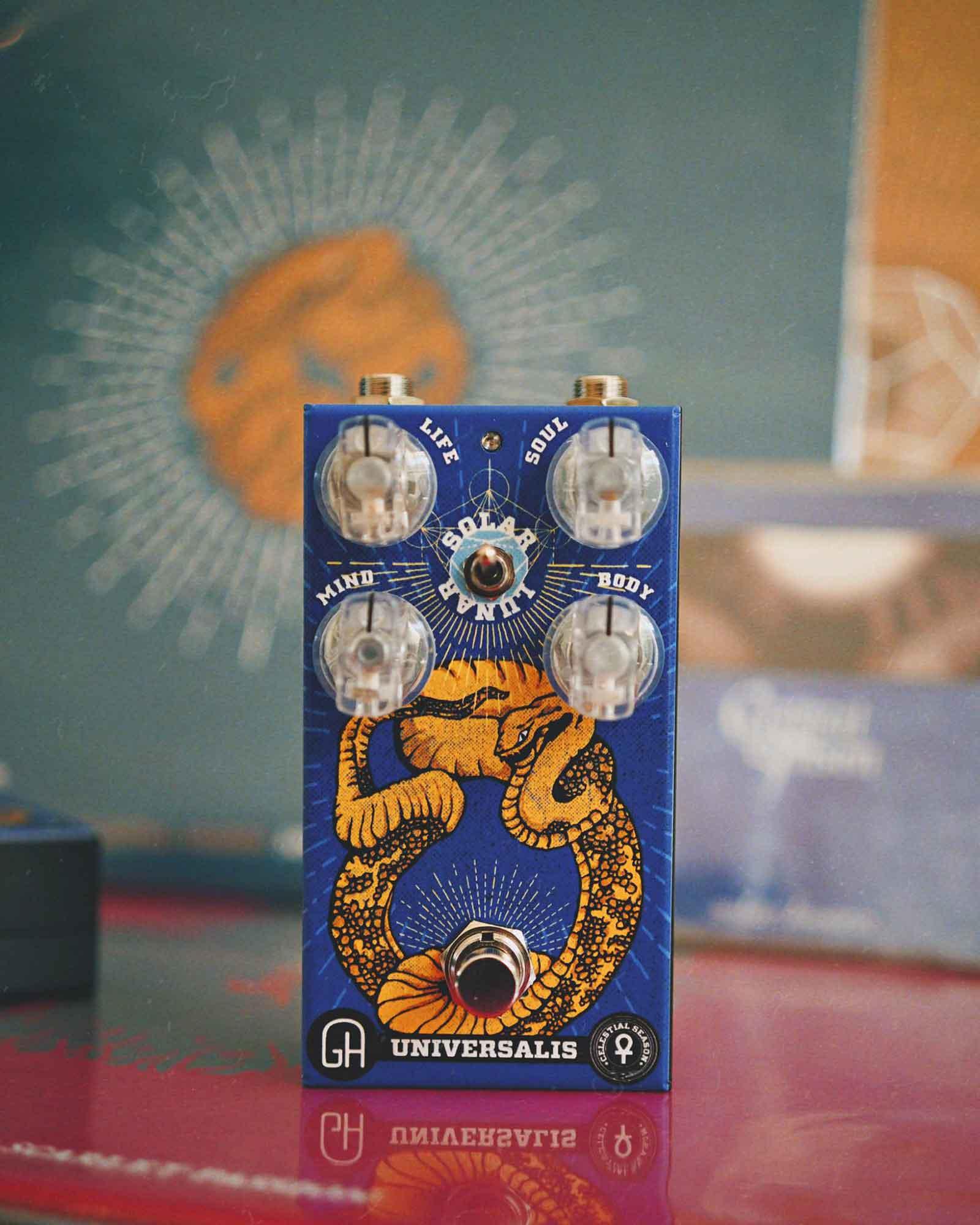 פדאל פאז לגיטרה Greenhouse Effects Sludge Hammer Universalis Edition