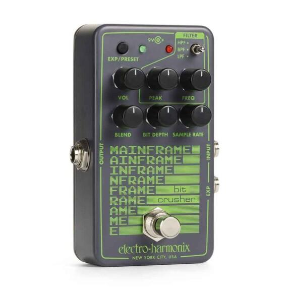 פדאל לגיטרה Electro-Harmonix Mainframe Bit Crusher