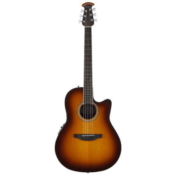 גיטרה אקוסטית מוגברת Ovation Celebrity Standard Mid Depth, Sunburst