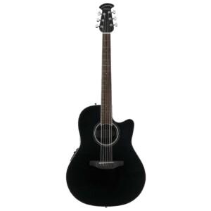 גיטרה אקוסטית מוגברת Ovation Celebrity Standard Mid Depth, Black