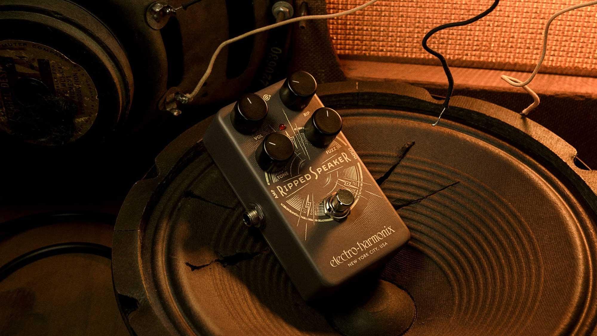 פדאל פאז לגיטרה Electro-Harmonix Rippd Speaker