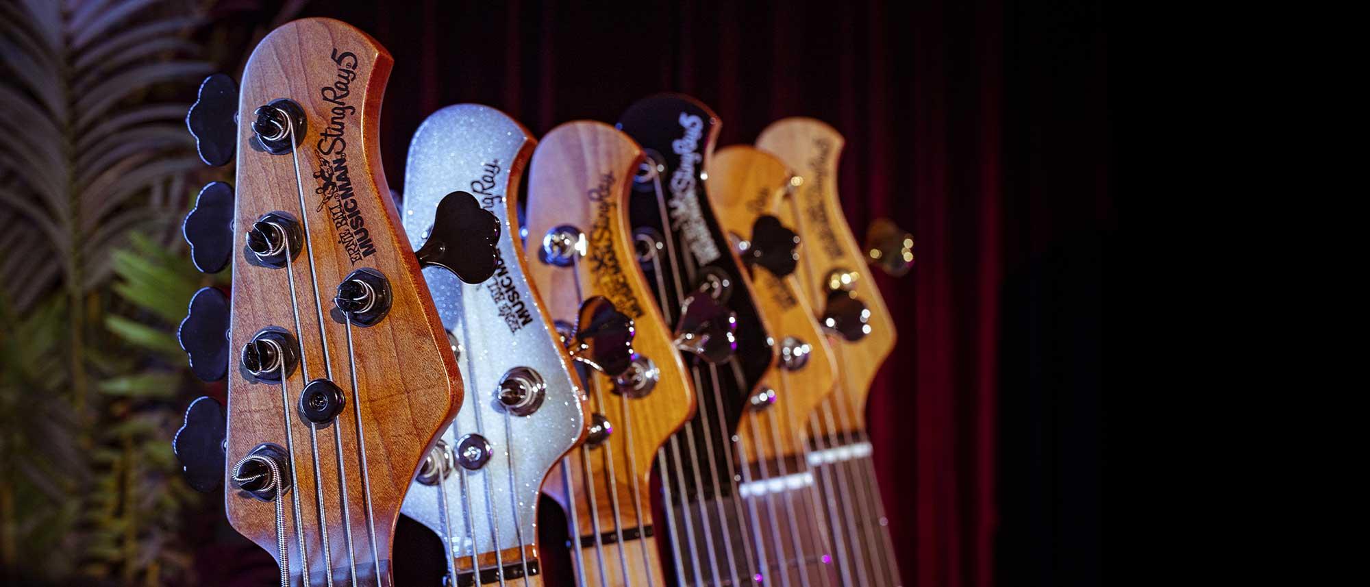 תמונות אווירה עמוד מוצר גיטרה בס Music Man StingRay Special