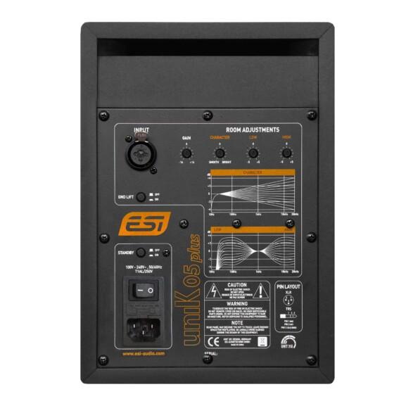 מוניטור אולפני אקטיבי +ESI Audio uniK 05